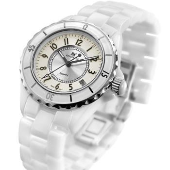 RN勞斯丹頓【8818M-W征服家】陶瓷石英錶