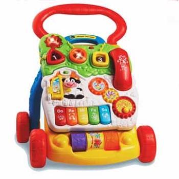 【Vtech】寶寶聲光學步車