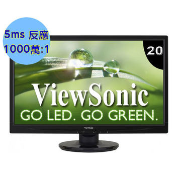 ViewSonic 優派 VA2046a 20型 液晶螢幕