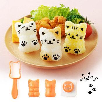 日本Arnest創意料理小物-可愛貓咪寶寶飯糰模型
