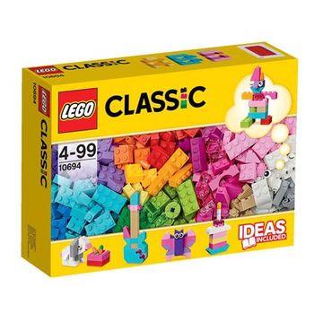 【LEGO樂高積木】Classic系列-樂高創意桶盒亮彩版 LT 10694