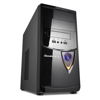 Genuine 捷元 Avbody G15B-8P i5-6400四核 GT730 2GB獨顯 Win7Pro 桌上型電腦