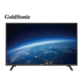GOLDSONIC 爆殺43型LED液晶顯示器+視訊盒(43GS-13C)