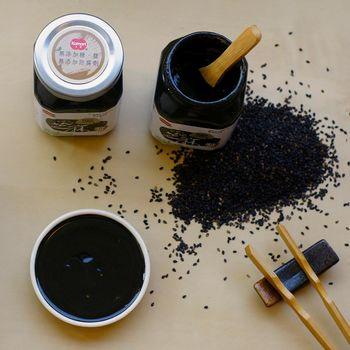 小森 白芝麻醬+100%純 黑芝麻醬 組(4罐裝)White  Black Seasome Sauce Set(全素食)