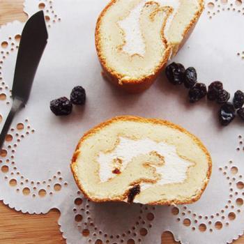預購《樂米工坊》瑞士捲米蛋糕-楓糖葡萄(462g/條,共兩條)