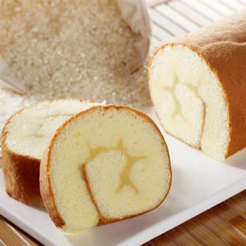 預購《樂米工坊》瑞士捲米蛋糕-原味(462g/條,共兩條)