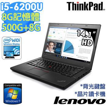 Lenovo 聯想 ThinkPad T460 20FNA004TW 14吋 i5-6200U 內顯 商務筆電