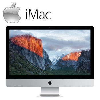 Apple iMac 配備 Retina 5K 顯示器 27吋 8GB / 2TB / 3.3GHz / R9 M395 四核心桌上型電腦 (MK482TA/A)