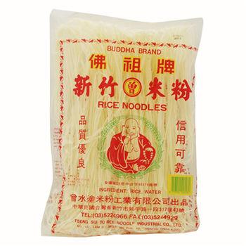 佛祖牌 新竹粗米粉 30包/箱