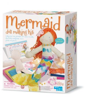 【4M】美勞創作系列 - 美人魚 Mermaid Doll Making Kit 00-02733