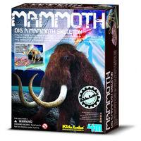 ~4M~挖掘考古系列 ^#45 長毛象 Mammoth Skeleton 00 ^#45