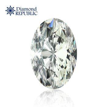 【鑽石共和國】橢圓型裸鑽GIA 0.3 克拉 L / VS2 帶淡褐色
