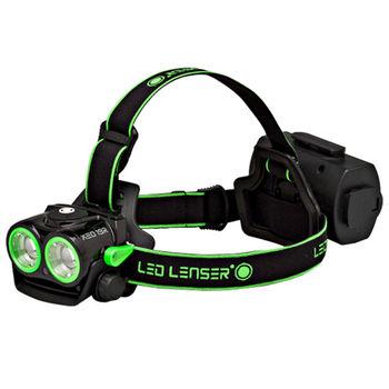 德國 LED LENSER XEO 19R 專業多功能強光頭燈-綠色