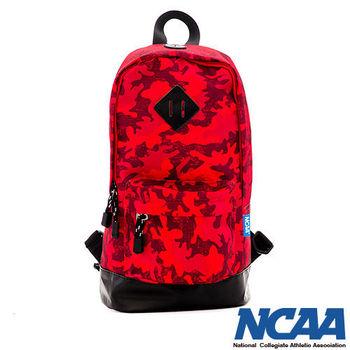 NCAA  迷彩方程式 豬鼻系單肩後背包-(紅、深綠、灰、黑)