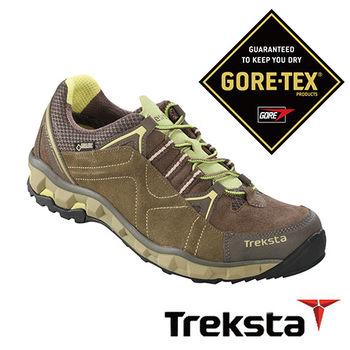 Treksta LIBERO 女GTX 防水登山健行鞋 卡其綠  KR16FW