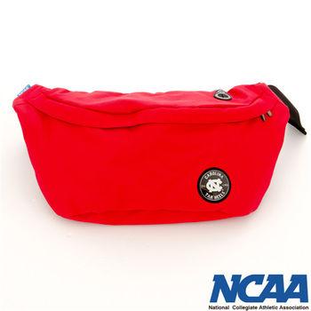 NCAA 踏浪側背包 北卡徽章 曬幸福隨身側背包-(紅、綠、湖藍色)