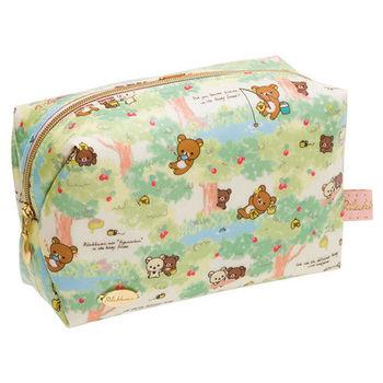 San-X 拉拉熊蜂蜜森林小熊系列防水化妝包