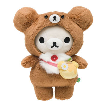 San-X 拉拉熊蜂蜜森林小熊系列毛絨公仔 懶妹