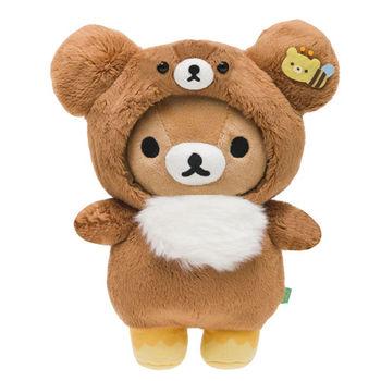 San-X 拉拉熊蜂蜜森林小熊系列毛絨公仔 懶熊