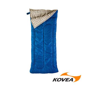 韓國KOVEA露營戶外用品-康柏 1000中纖睡袋-信封