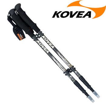 韓國KOVEA露營戶外用品-DM避震碳纖三節杖-EVA 2入