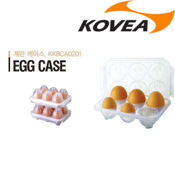 韓國KOVEA露營戶外用品-EC六入蛋盒 (可堆疊)