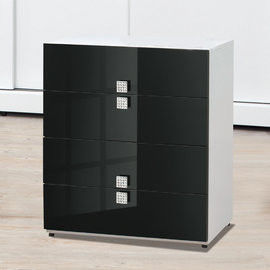 【時尚屋】[UZ6]米蘭白色2.6尺四斗櫃UZ6-64-5