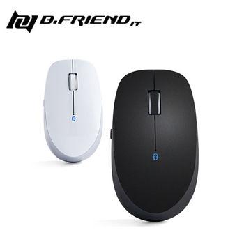 【B.Friend】MT-002 藍牙無線滑鼠 (黑/白)
