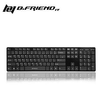 【B.Friend】KB1430 有線鍵盤 (黑)