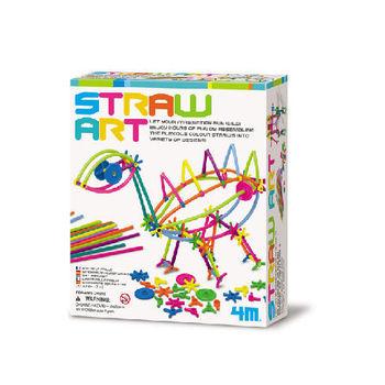 【4M】美勞創作系列 - 吸出創意 Straw Art Kit 00-04506