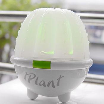 《iPLANT》仙人掌情境濕度感測盆栽-療傷系樂活商品