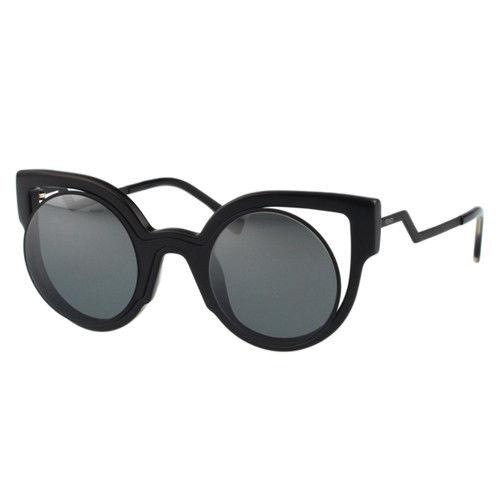 FENDI-時尚造型 太陽眼鏡(黑色)