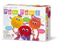 【4M】美勞創作系列 - 波波毛球家族 Make Your Own Pom Poms 00