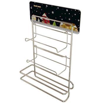 居家收納-保鮮膜廚房紙巾放置架-(台灣MIT)