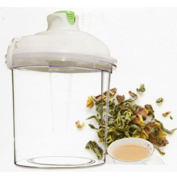 【電動抽真空式】MIT真空保鮮罐(2L) 贈日本九州熊本Kumamon 雙層隔熱玻璃瓶 300ml水筒X1
