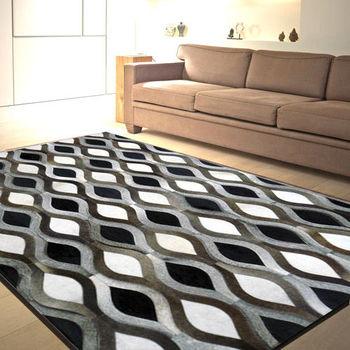 【范登伯格】印度手工牛皮地毯-菱光-200x290cm