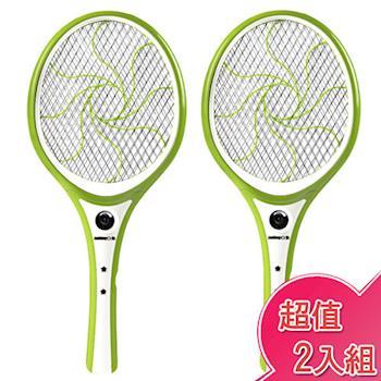 【日象】特級好拍充電式特大電蚊拍(2入組) ZOEM-5100