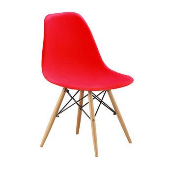 【AT HOME】北歐迪仕設計餐椅(四色可選)