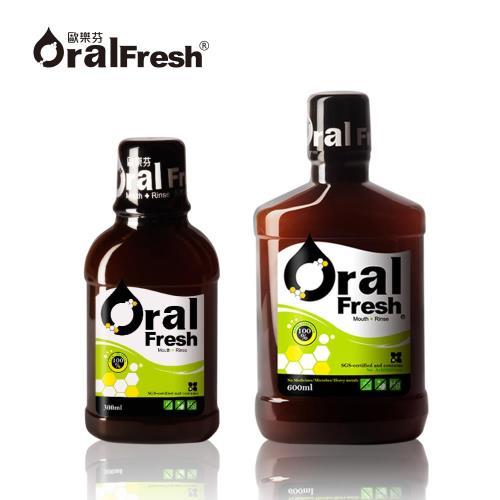 【Oral Fresh 歐樂芬】天然口腔保健液(600ml+300ml)
