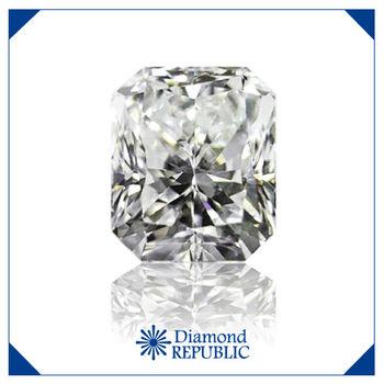【鑽石共和國】方型裸鑽GIA 0.5 克拉 S-T / I1 帶淡褐色