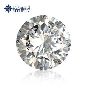 【鑽石共和國】圓型祼鑽GIA 0.4克拉 K,Faint Brown / I1(福利品)