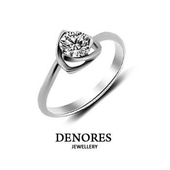 DENORES 頂級GIA D/VS2/50分八心八箭美鑽戒