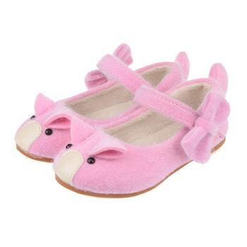 布布童鞋 可愛小豬造型紅粉公主鞋 [OF7F78G]
