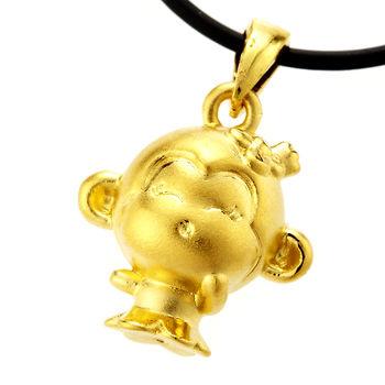 D.M.俏皮猴黃金墜
