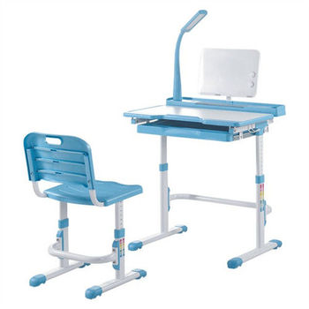【顛覆設計】諾貝爾可調整兒童成長書桌組(兩色可選)
