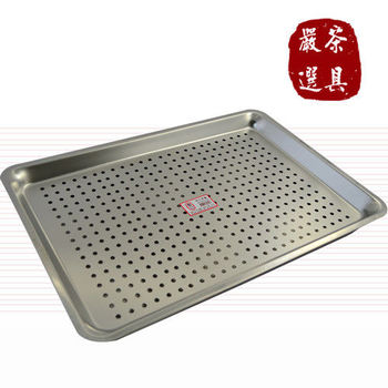 日式高級不鏽鋼茶盤組(超大)
