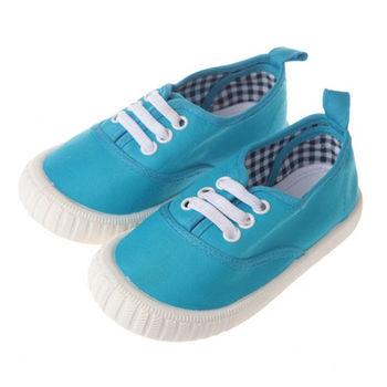 布布童鞋 經典單品藍色軟底帆布鞋 [OD8129B ] 藍色款