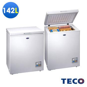 【福利品】TECO東元142公升單門冷凍櫃 RL1481W
