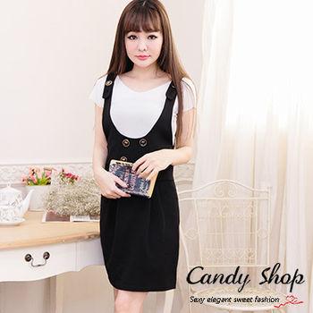 Candy小舖 百搭素面V領短袖柔軟針織上衣(預購+現貨) 4色選
