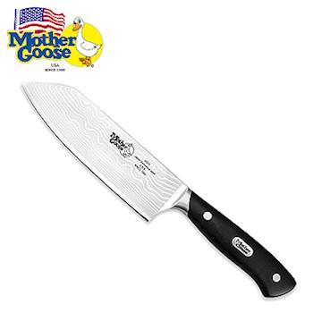 美國鵝媽媽 MotherGoose 大馬士革鋼-料理刀(6.5吋)